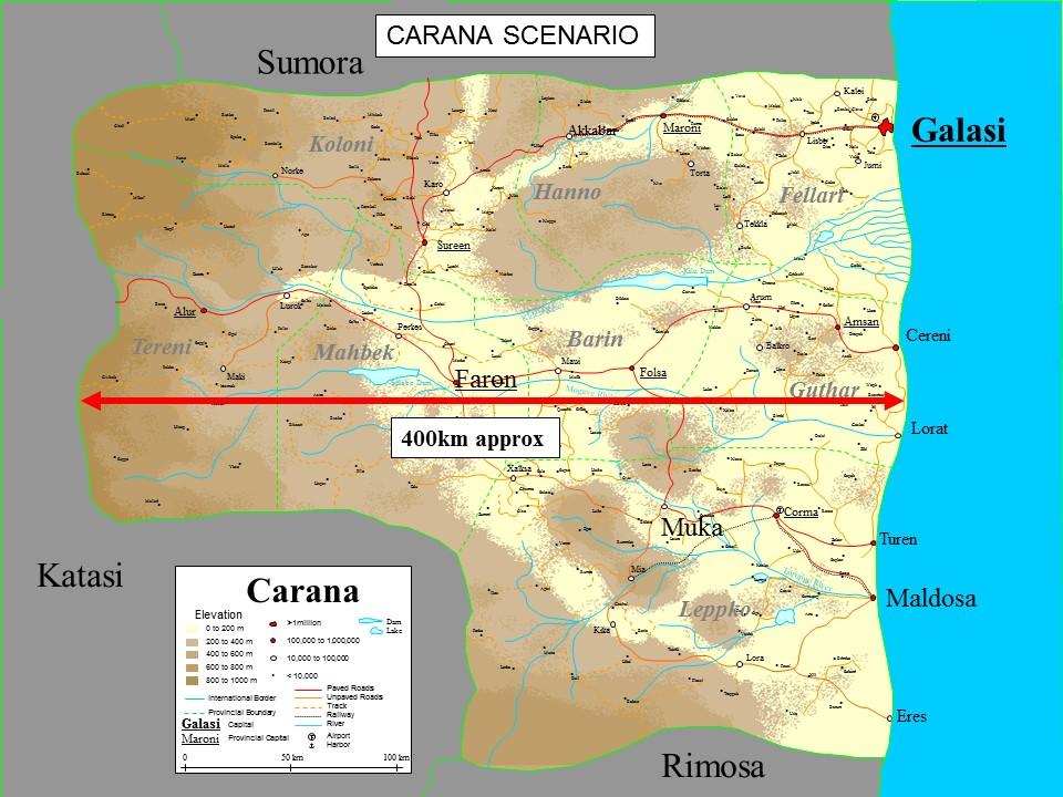 Carana Scenario