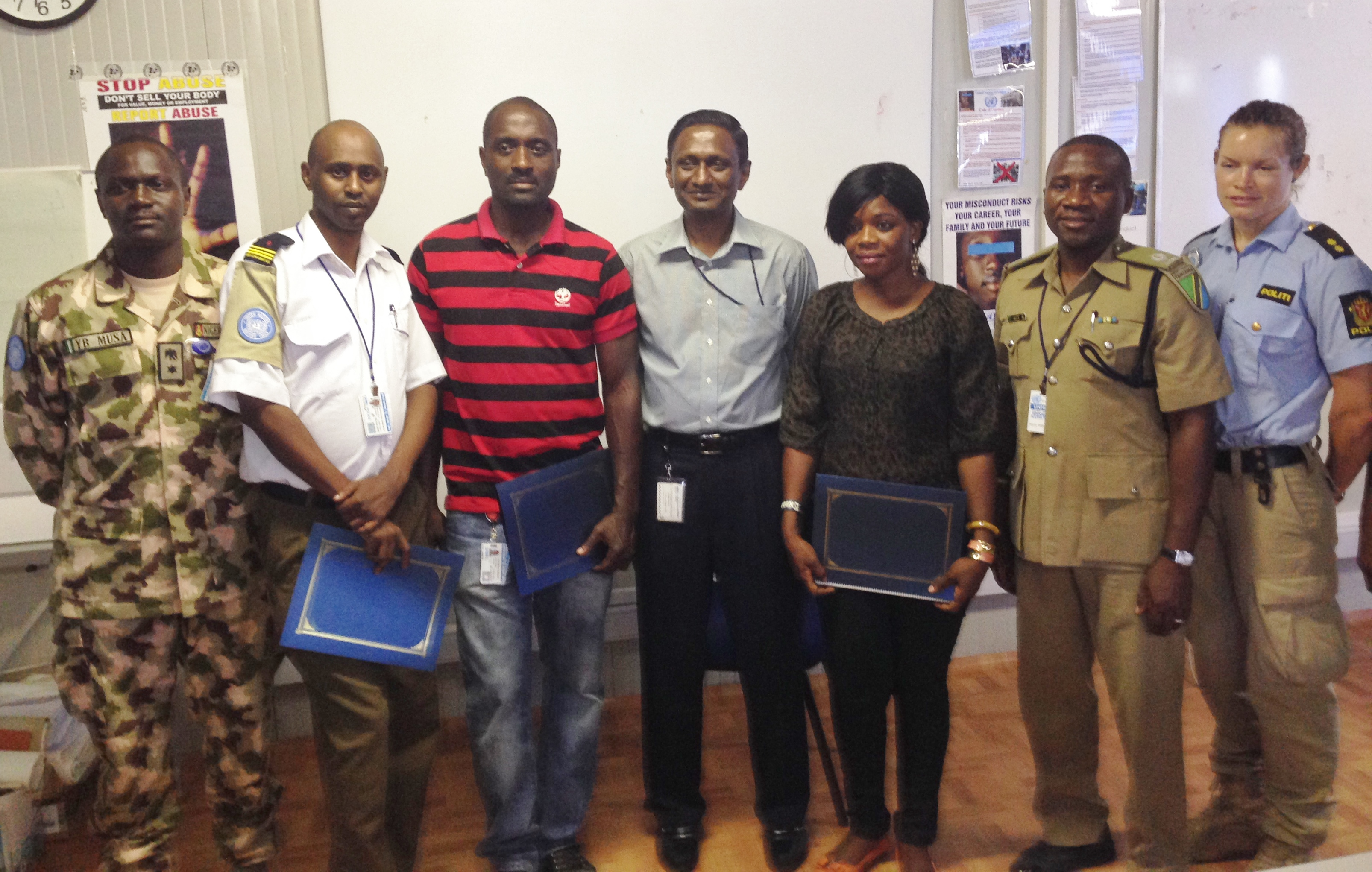 POC Course at UNMIL April 2015
