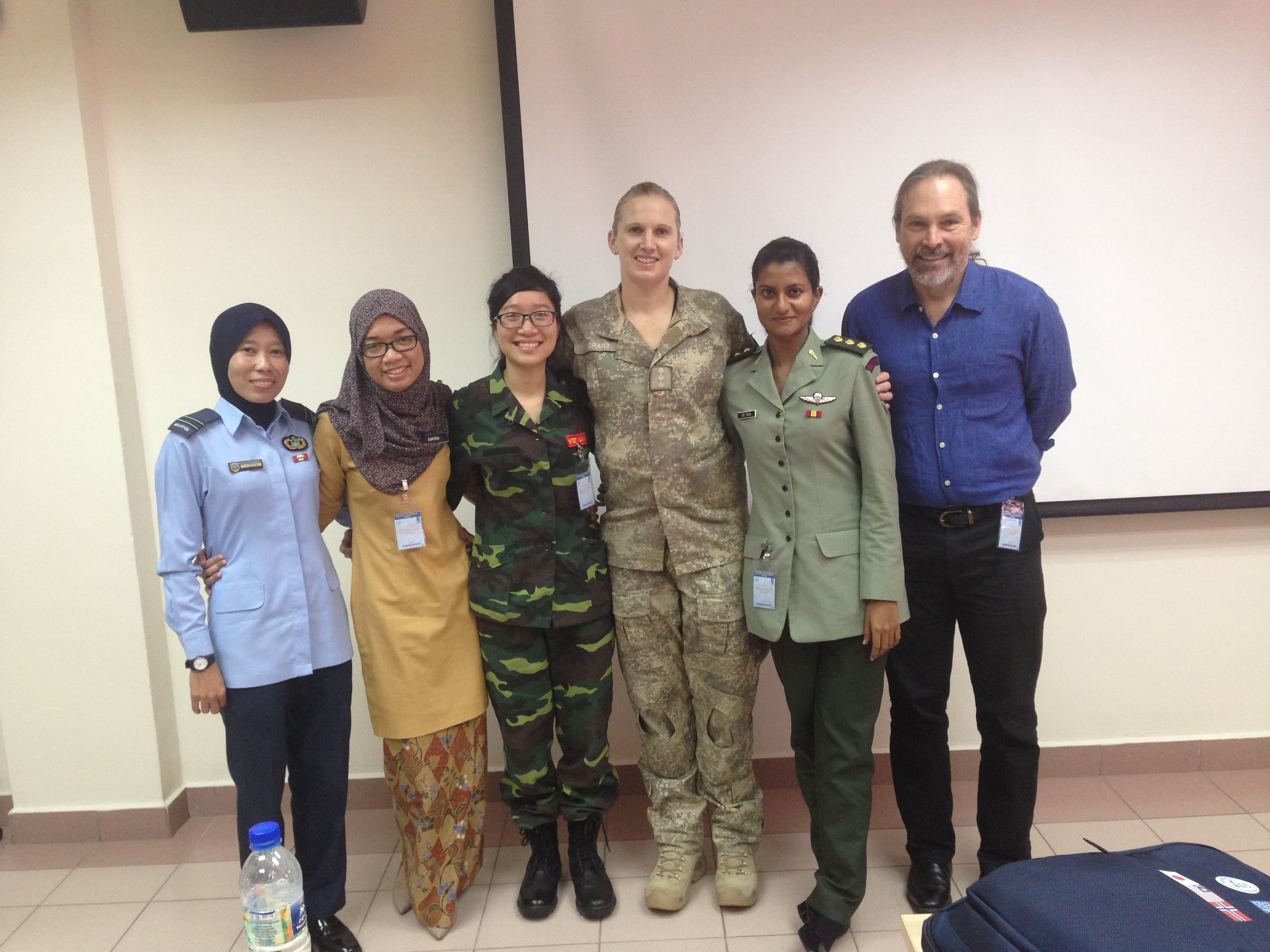 Students of POC Sep in Malaysia